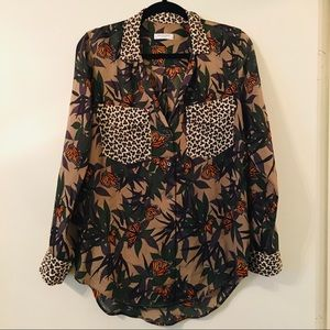 Equipment Silk Blouse Size S